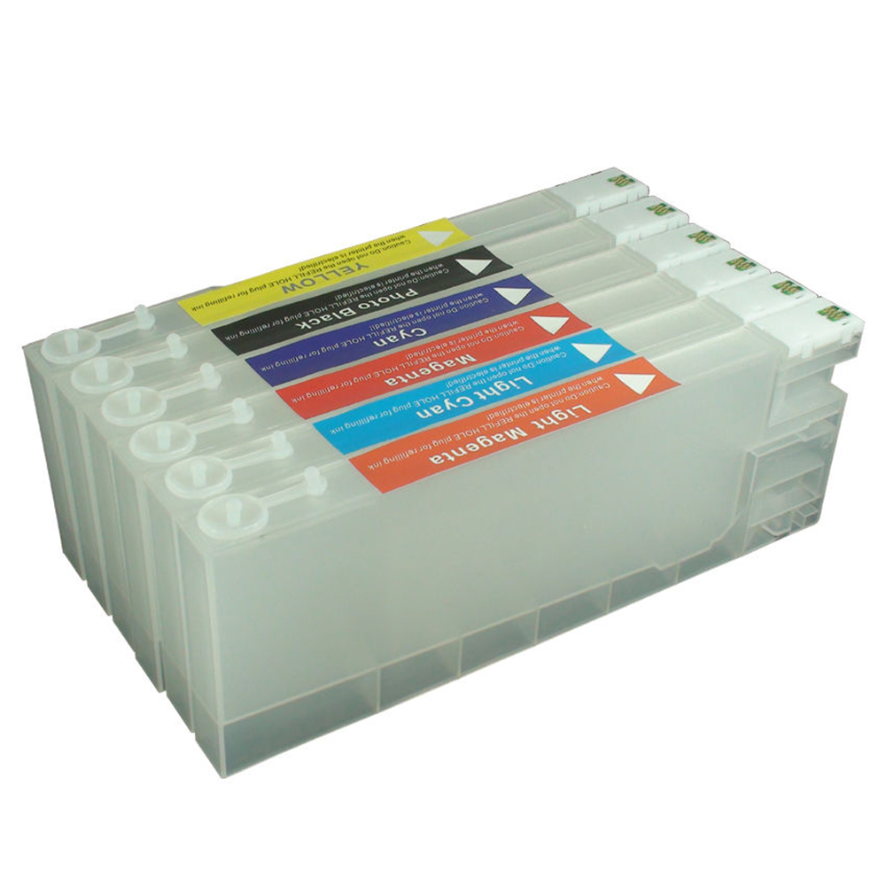 for <font><b>EPSON</b></font> <font><b>D700</b></font> SURELAB <font><b>D700</b></font> Printer Refillable <font><b>Ink</b></font> Cartridge with One Time Chip image