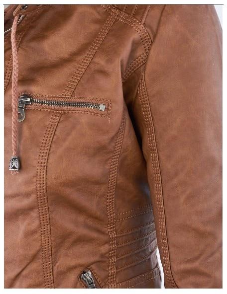 Riverdale Southside Riverdale Serpents black Brown PU Leather Jacket Women Riverdale Serpents Streetwear Leather Brand Coat 3