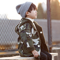 2016 Winter Fashion Boys Camouflage Jacket Cotton Warm Winter Coat Baby Overcoat Fleece Baby Boy Jackets Hot Kids Outwear
