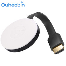 Ouhaobin For Miracast 1080P WiFi Display TV Dongle Wireless Receiver HDMI AirPlay DLNA Share