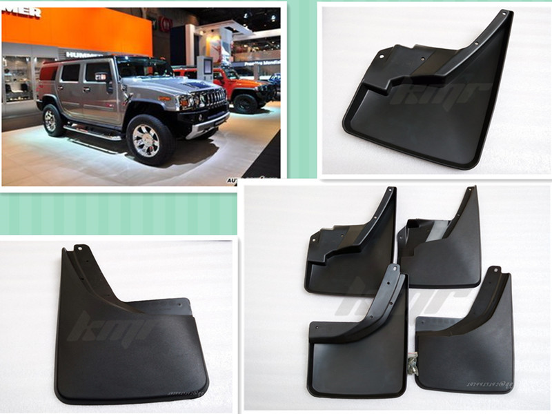 ФОТО Car fenders, wheel cover splash guard, suitable for hummer H3 2008 2009 2010 - 2015 -ON dirtboard  4 pieces