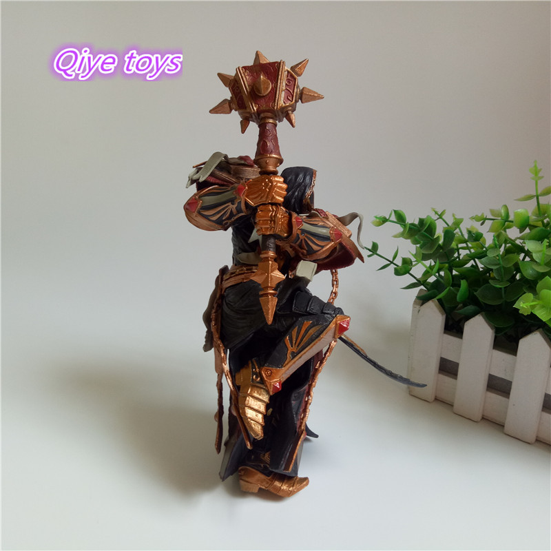 Game WOW Paladin Judge Malthred Action figure Toy Character PVC Figure 21cm Figurine Doll Gift 5