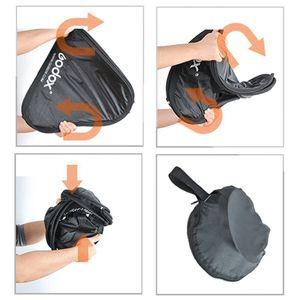 Image 5 - Godox 40x40cm 40*40cm Softbox Bag Kit for Camera Studio Flash fit Bowens Elinchrom