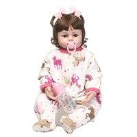 Wholesale New Christmas Reborn Dolls Fashion Babies Realistic 24 Silicone Baby Dolls 5 Types Girl Bebe