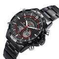 Relogio masculino NAVIFORCE Watches Men Luxury Brand Sport Men's Quartz Watch Full steel Military Digital Wristwatch Clock 9031