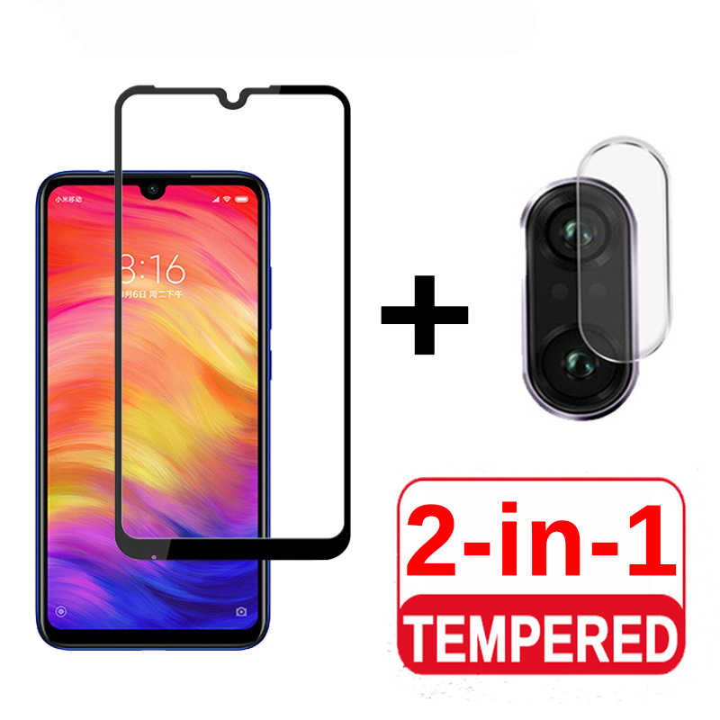 3D Full cover Protective Glas For Xiaomi redmi note 7 6 pro 5 plus go s2 6a 4x Camera Lens Tempered Glass Screen Protector Film