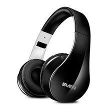 Беспроводные наушники с микрофоном SVEN AP-B450MV, черный-белый (Bluetooth)