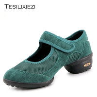New Summer 2017 Women Dance Shoes Ladies Shoes Sneakers For Woman Rubber Platform Dancing Salsa Jazz