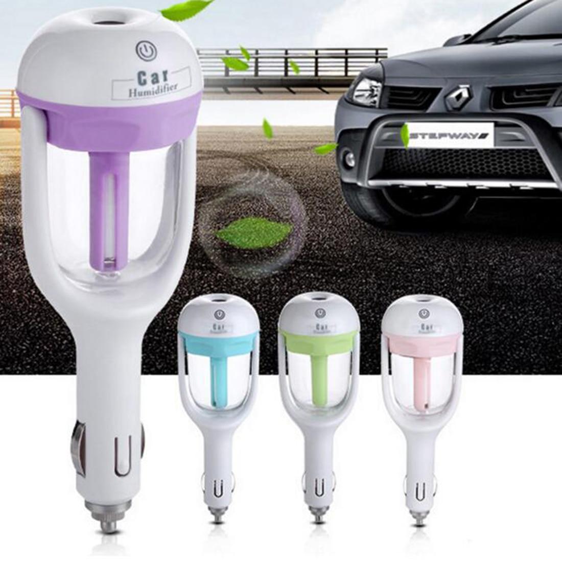 Mini Portable Car Use Air Humidifier Ultrasonic Essential Air Atomizer Diffuser Wave Air Filter Mist Maker