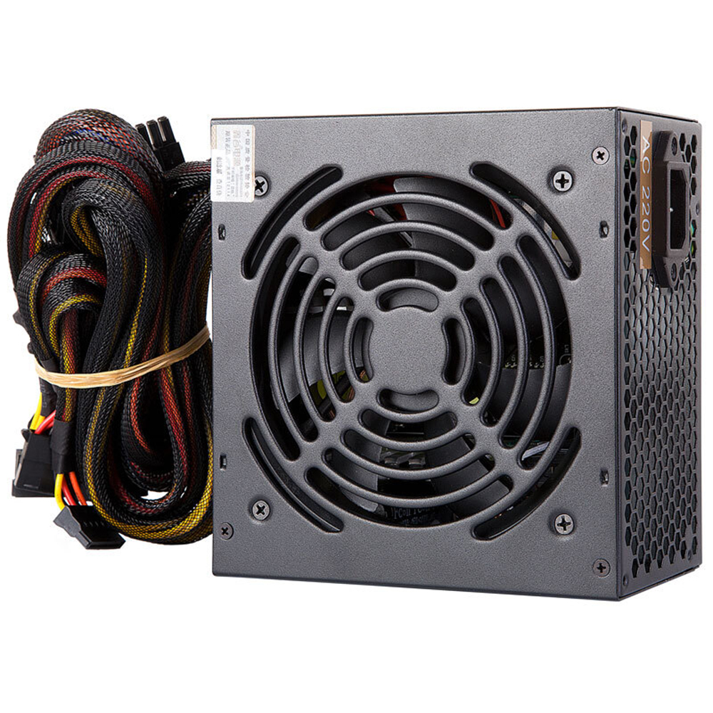 Segotep F7 500W ATX Computer Power Supply Desktop Gaming PSU Active PFC 120MM Fan 90-264V power supply for computer segotep f7 500w atx computer power supply desktop gaming psu active pfc 120mm fan 90 264v power supply for computer
