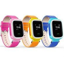 ใหม่เด็กGPS Watchสมาร์ทนาฬิกาข้อมือSOSสถานที่ตั้งFinder L Ocatorอุปกรณ์ติดตามสำหรับเด็กปลอดภัยต่อต้านหายไปตรวจสอบเด็กของขวัญQ60