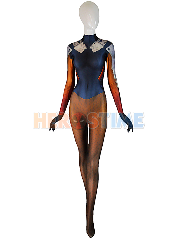 Mercy Costume Mercy Undersuit Girl Cosplay Costume Tight Game Cosplay Suit Woman Superhero Costume Custom Made