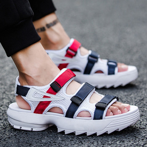 Image 4 - Summer Mens Sandals Comfortable Casual Men Shoes Fashion Male Slippers Classic Beach Shoes Sandalias