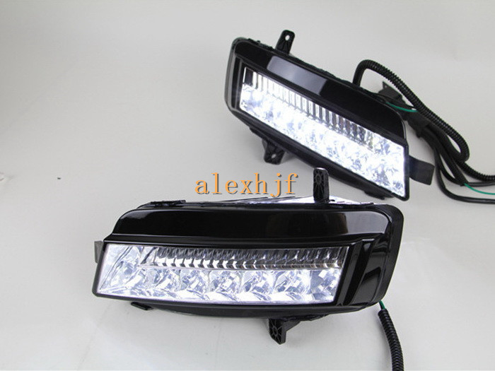 July King LED Daytime Running Lights LED DRL LED Front Bumper Fog Lamp case for Volkswagen GOLF 7th 2013~ON 1:1 Replace ( HAA) 100% tested good working high quality for original 99% new 320ap03c2lv0 2 logic board
