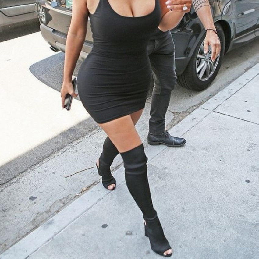 2017 Newest Women Boots Thigh High Boots Brand Wearing Simple Style Sexy Over The Knee Boots