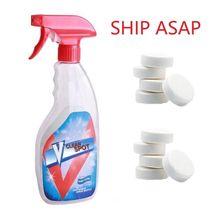 Многофункциональный Effervescent Спрей очиститель набор V чистая точка домашний чистящий концентрат Effervescent Спрей очиститель дропшиппинг
