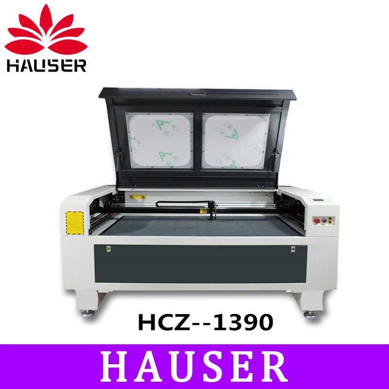 Free shipping HCZ 100w co2 laser 1390 laser engraving machine laser marking machine 220V / 110V laser cutting machine cnc router
