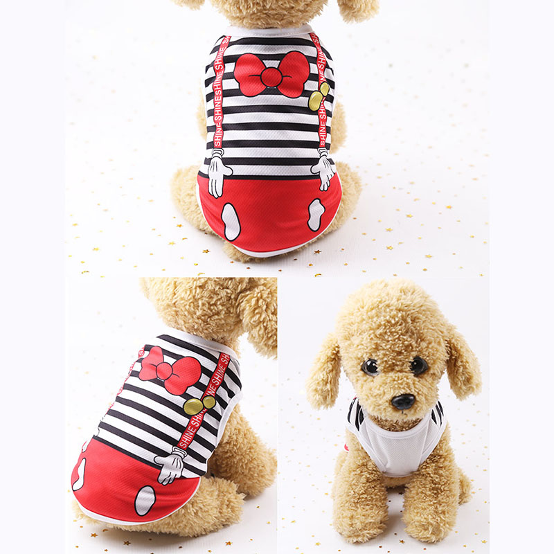 Cheap Dog Vest Summer Pet Clothes For Dogs Cat Vest Shirt Clothing For Dogs Costume Small Medium Dog Clothes Chihuahua Yorkshire #4