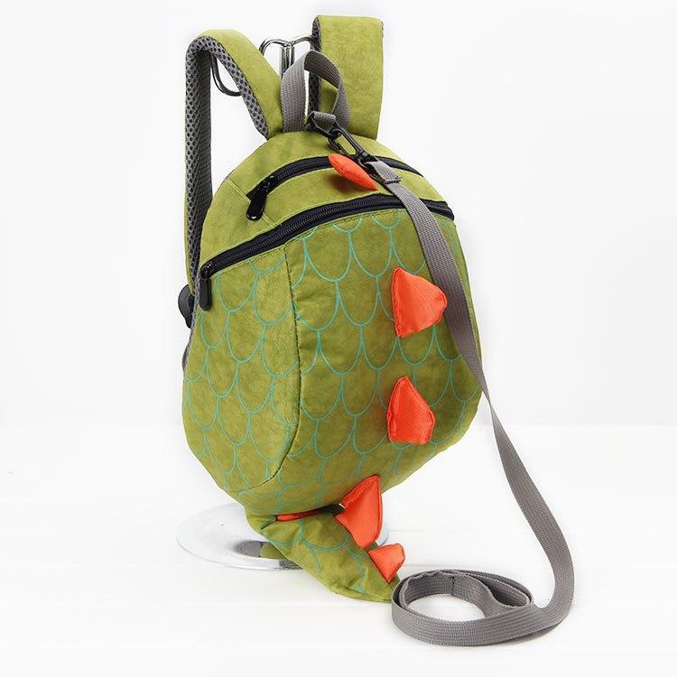 2018 Baby Kids Cute Backpack Dinosaur Waterproof School Bag Casual Package  walking bag