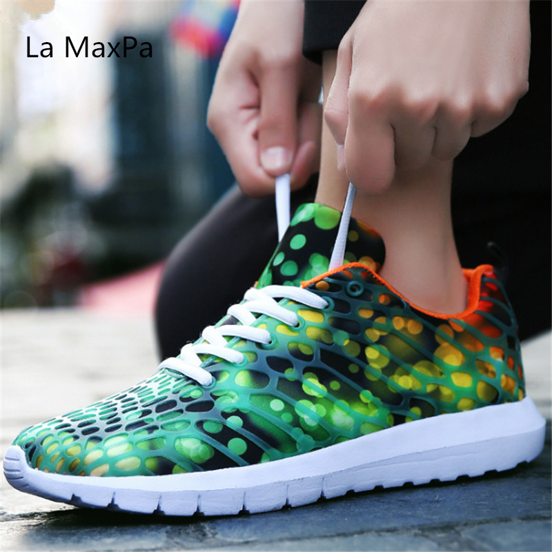 Size 35-46 Breathable Sport shoes women Sneakers Men Running Shoes Cushioning Jogging Light Sneakers Walking Jogging Trainers