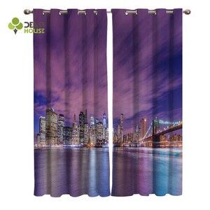Curtains American City Night V