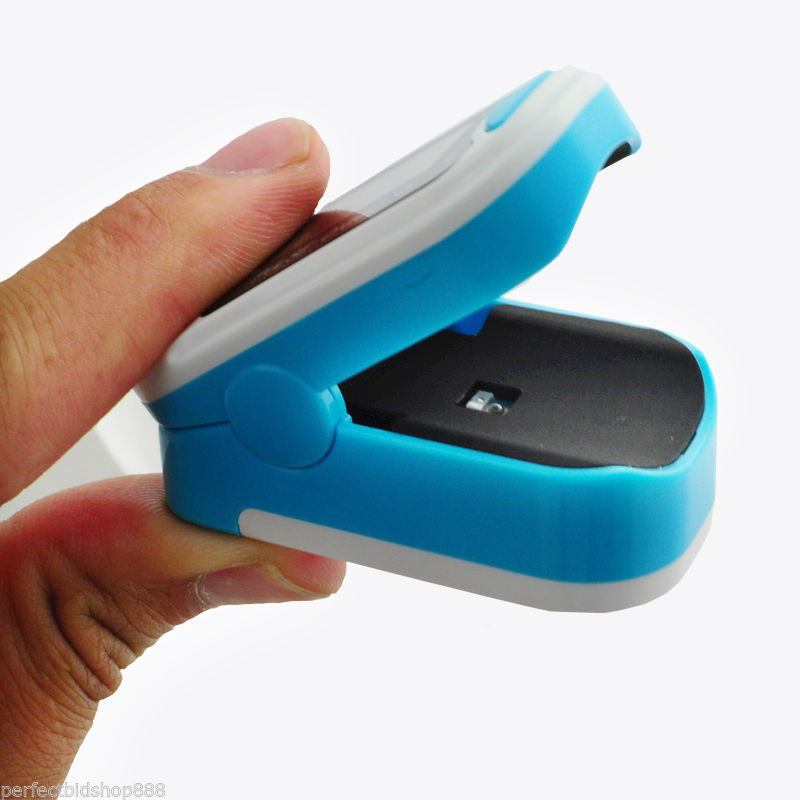 CMS50M Finger Fingertip Blood Oxygen Meter SPO2 LED Pulse Heart Rate Monitor,Pouc oled pulse finger fingertip oximeter blood spo2 pr heart rate monitor
