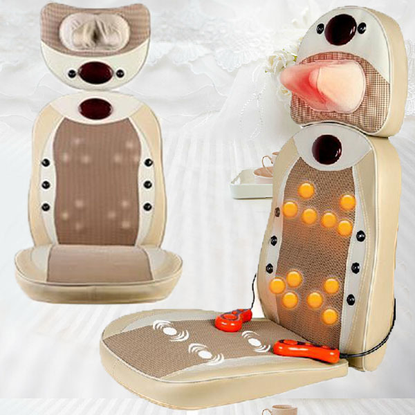 High Performance Pillow Massager Neck Shoulder Back Massager Vibra Massage Chair As Seen On TV Made In China Free Shipping