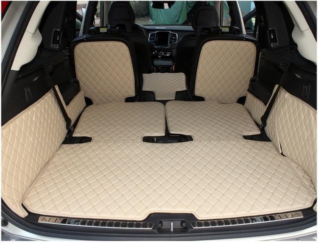 hohe qualit t spezielle kofferraum matten f r volvo xc90. Black Bedroom Furniture Sets. Home Design Ideas