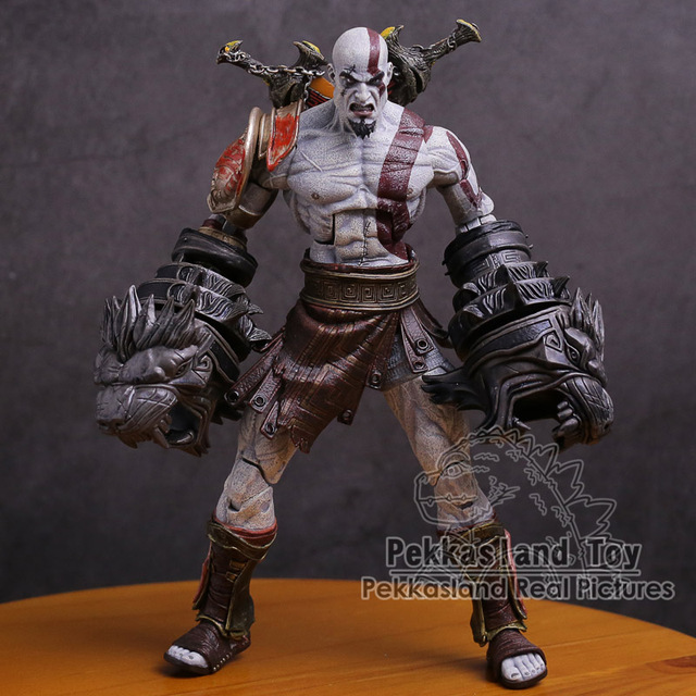 NECA God of War 3 Kratos Ghost of Sparta PVC Action Figure Collectible Modelo Toy 22 cm