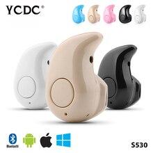 De Calidad superior S530 Mini Super Lindo Deporte Auricular Estéreo Bluetooth Auricular En La Oreja Los Auriculares Inalámbricos Invisibles 2017 NUEVO