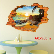 Environmental protection can be removed from the wall stickers Super strong stereo feeling creative three-dimensional st