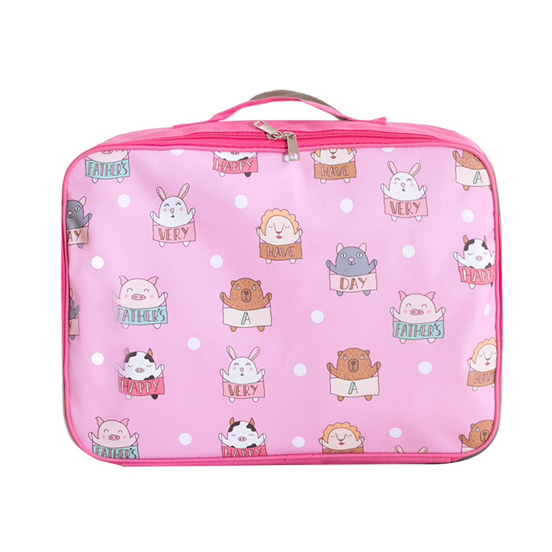 SHUSHIRUO Travel-Bags Hand-Luggage Multifunctional Large-Capacity Women Cartoon Oxforal