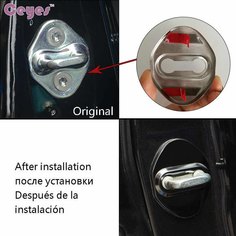 Ceyes автомобильный Стайлинг JDM автомобильный чехол для Honda Mugen power для Mazda Toyota CHR Alphard эмблемы наклейки аксессуары автостайлинг