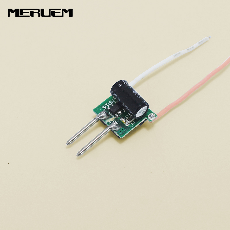 Free shipping 5pcs/lot DC12V input output DC9-10V Current 300mA 3*1W led drivers Lighting transformer for 3W MR16 Spotlights