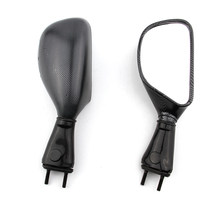Pair Motorcycle Rearview Side Rear View Mirror Accessories For Kawasaki Ninja ZX6R 1998-2002 ZX9R 1998-2003 650R 2006 - 2008(China)