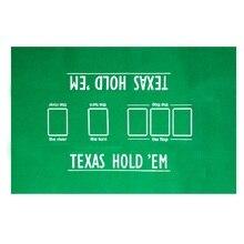 FGHGF Счастливого Рождества! Высокое качество 60*90 см Техасский Холдем покерный стол ткань покерный макет комплект анти-пиллинг покерный Войлок макеты