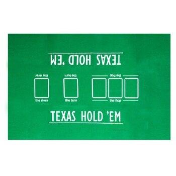 FGHGF Счастливого Рождества! Высококачественный 60*90 см Техасский Холдем покерный стол набор для покера не скатывается покер войлочные раскла...