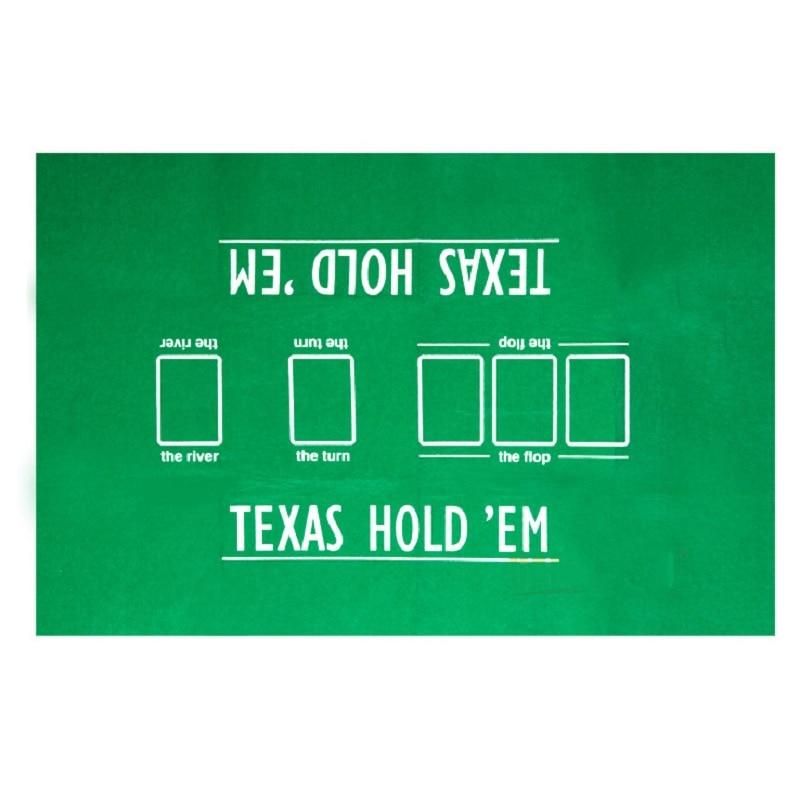 FGHGF Merry Christmas!High Quality 60*90cm Texas Holdem Poker Table Cloth Poker Layout Set Anti-pilling Poker Felt Layouts