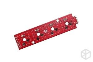 Image 2 - xd004 xiudi 4% Custom Mechanical Keyboard 4 keys switch leds PCB programmed hot swappable macro key silver case micro port