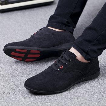 Spring Autumn Men Shoes Breathable Men Casual Shoes Lace Up Flat Shoes For Men Canvas