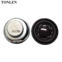 TONLEN 2pcs computer speaker 8 ohm 3 w car 1.5inch loudspeaker 1.5 full range 40mm diy mini portable