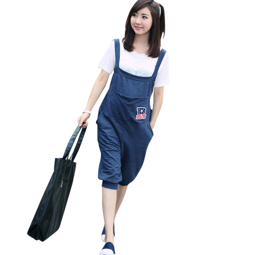 Summer Pregnant Overalls Maternity Jumpsuits Rompers Clothing Pregnancy Women Causal Suspender Capris Pants Plus Size Clothes
