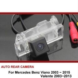 Для Mercedes Benz MB Viano Valente 2003-2015 Автомобильная реверсивная резервная HD CCD парковочная камера заднего вида ночное видение