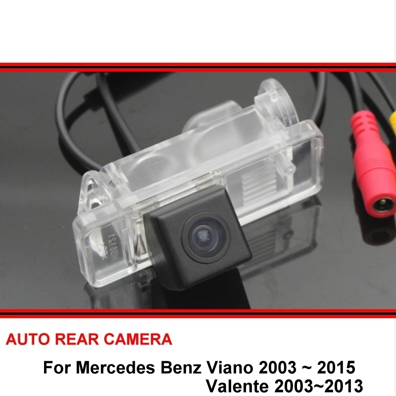 Fisheye For Mercedes Benz MB Viano Valente 2003 - 2015 Car Reverse Backup HD CCD Rearview Parking Rear View Camera Night Vision