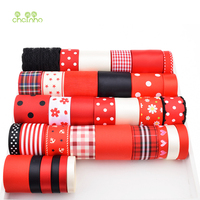High Quality 34 Design Mix Red Ribbon Set For Diy Handmade Gift Craft Packing Hair Accessories