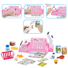 Hot Sale Child Classic Toys  Learning Pretend Play Mini Supermarket Cash Register Shopping Cashier Play House Toys