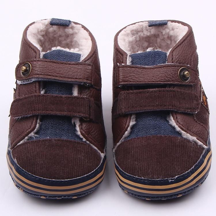 11-13 cm Winter Jungen Weiche Sohle Schuhe Warme Kinder Erste - Babyschuhe - Foto 3