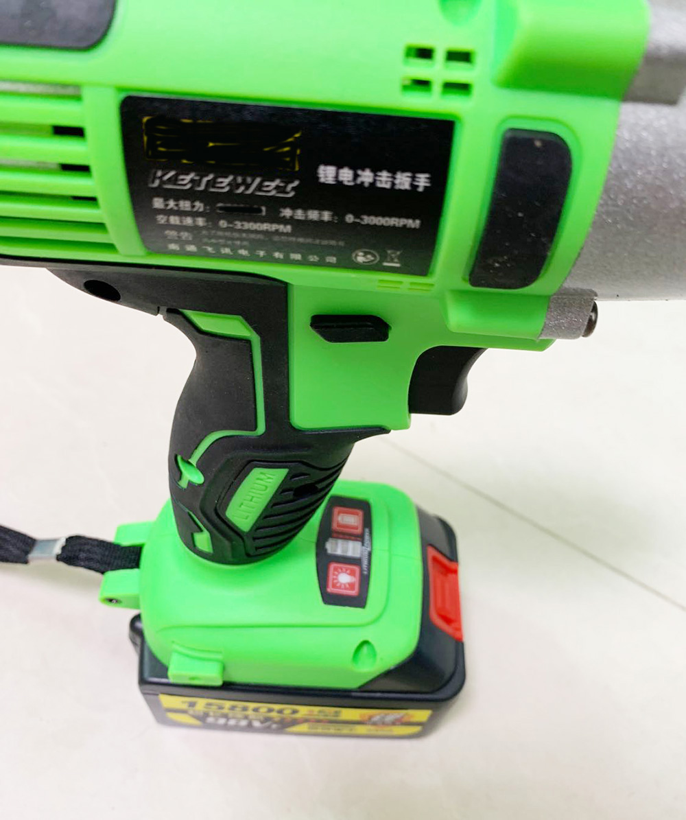 Cordless Electric Impact Wrench 98V 15800mAh With 1 Batteries 1 Charger Hand Drill Installation Power Tools impact wrench