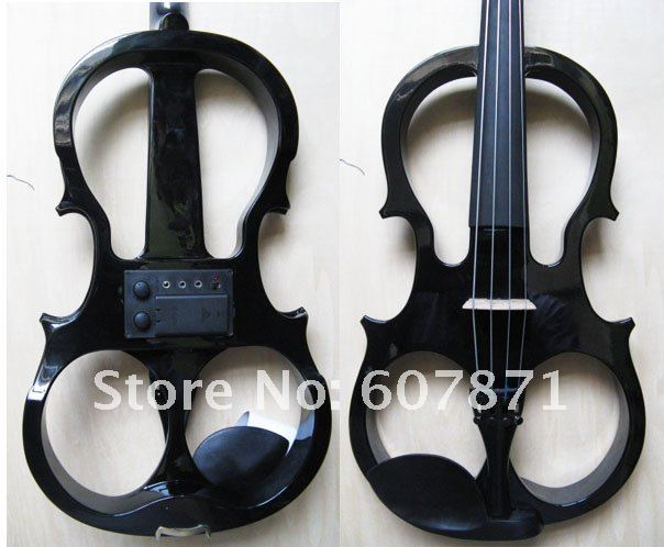 4/4 High quality  Electric violin  black 8# yellow 4 4 high quality electric violin 5