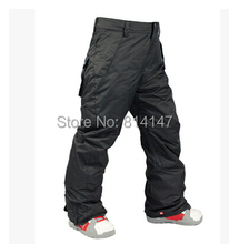 free shipping 2014 new style men's ski pants windproof waterproof snowboarding pants ski wears